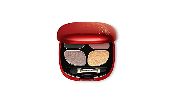 KIKO Milano MAGICAL HOLIDAY SMOKY EYESHADOW QUAD palette with 4 eyeshadows: 2 matte and 2 pearly (01 Charming Smoky): Amazon.es: Belleza