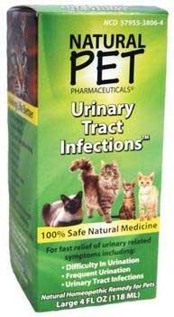 Les infections naturelles d'animaux urinaires pour chats 4 onces