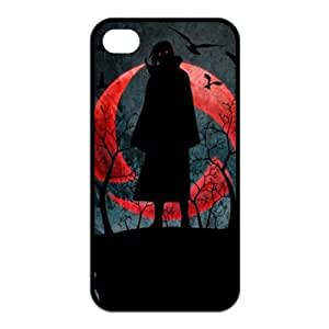 Japanese Anime Naruto Series Itachi Uchiha for Iphone4/4s Best Rubber Cover Case-Creative New Life