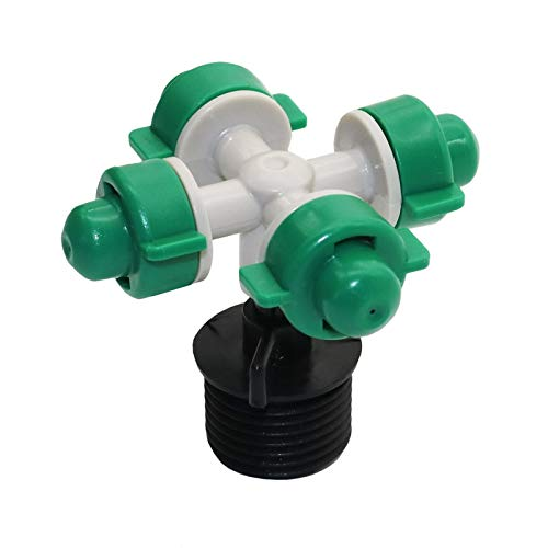 - Mercury_Group, Garden Sprinklers_Atomized Nozzle Seedling Water Sprayer FarmG1 / 2 Connector Irrigation Dropper Gardening Tools and Equipment Atomizer 4pcs - (Color:4pcs)