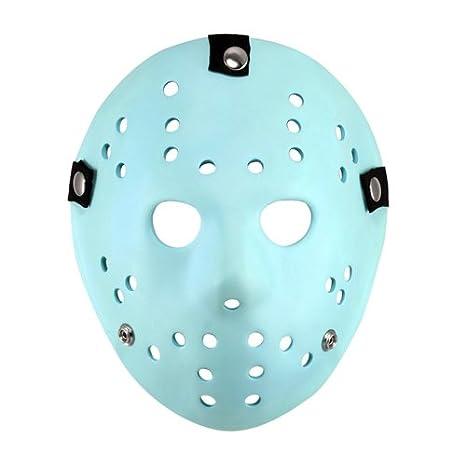 Viernes 13 Prop Replica Resplandor En La Máscara Oscura Jason (Classic Video Game Apariencia) Viernes 13 ...