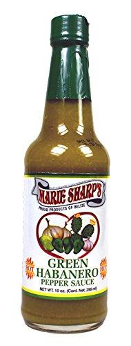 Marie Sharp's Green Habanero Pepper Sauce 10 Oz