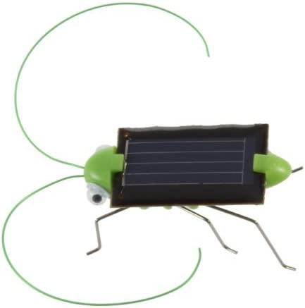 Child Kid/'s Toy Small Solar Power Robot Insect Locust Grasshopper Science Cute U