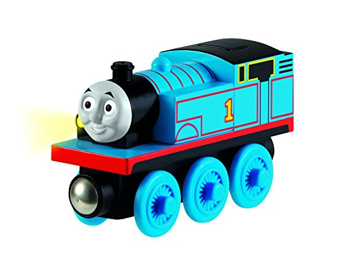 Fisher-Price Thomas & Friends Wooden Railway Train, Thomas - Battery Operated Train