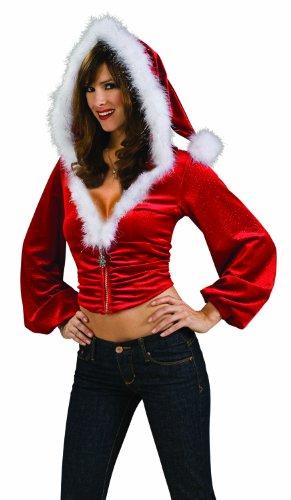 Secret Wishes Red Santa Hoodie