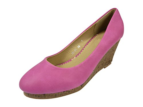 Chaussmaro Women's Smart Shoes festival fuchsia 2cZ71HLU