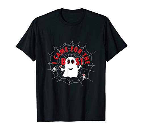 I Came Here For The Boos Halloween Ghost T-Shirt]()