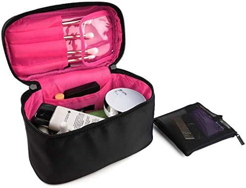 Amazon.com: HDWISS Mini bolsa de maquillaje de viaje neceser ...