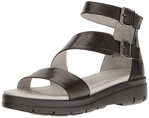 Cape May Black Jambu Sandal Wedge Women's Solid H5wcpq8