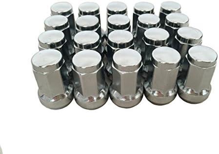 閉じ品質の良い合金鉄ラックホイルナット(7 sides) 33mm M12 * 1.25銀
