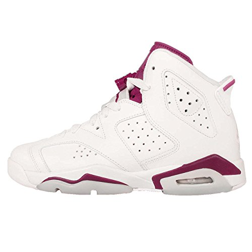 Jordan Bg off Nike Wit New 6 Junior Rood Maroon Retro Air aPwWFq