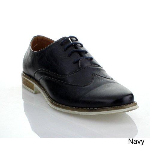 Miko Lotti Hm236 Chaussures À Lacets À Lacets Pour Hommes Marine