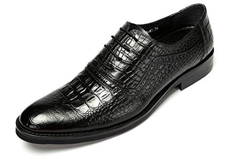 Hombres Boda Zapatos Toro castrado Vestir Encajes Negro Piedra Patrón Formal Negocio Cuero Oxford para Hombres marrón Trabajo tamaño 38-44 black
