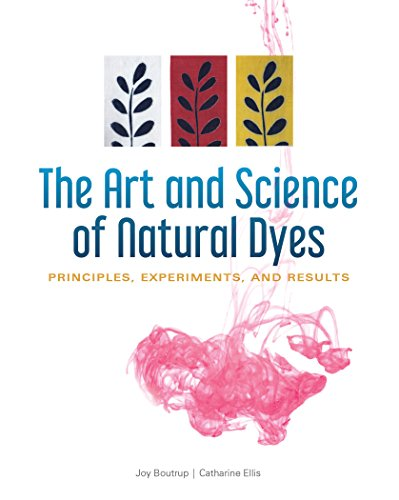 The Art and Science of Natural Dyes: Principles, Experiments, and Results by Schiffer
