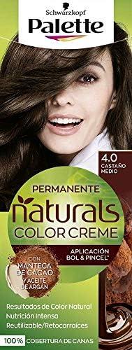 Schwarzkopf Palette Naturals Color Creme - Tono 4 cabello ...