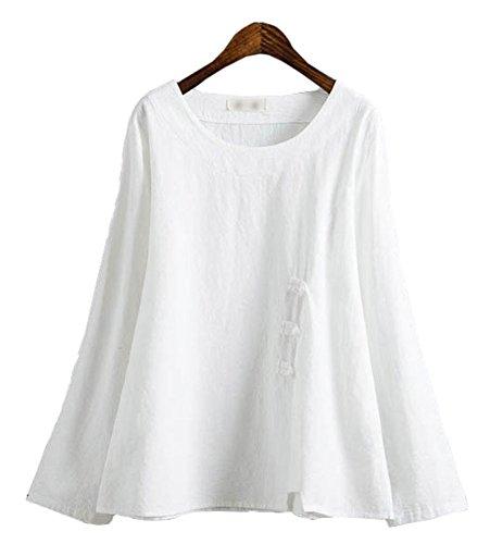 ff972cb2a5a87 Plaid Plain Womens Chinese T shirt