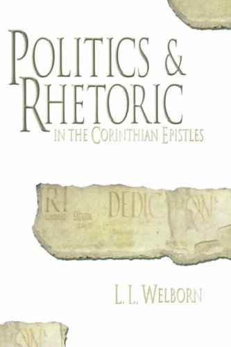 Politics and Rhetoric in Corinth by Mercer University Press