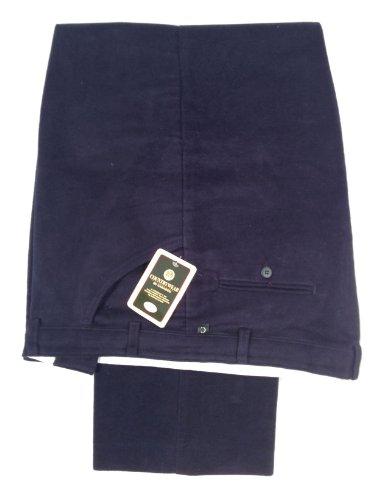 Carabou - Pantalon -  Homme -  Bleu - Bleu marine - XXL