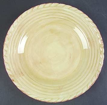 Amazon.com | Artimino Tuscan Countryside-Cream Dinner Plate, Fine ...