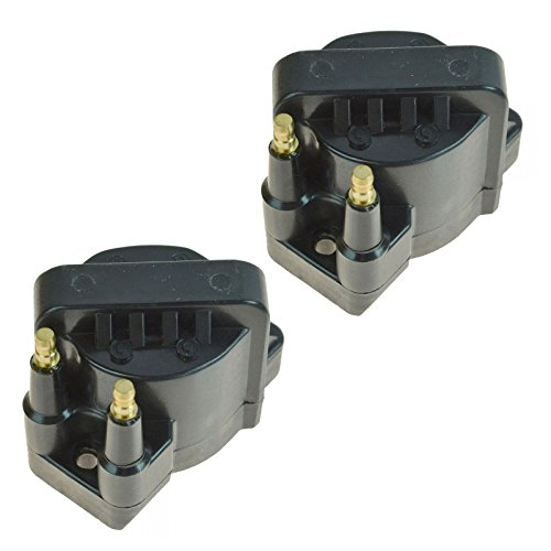 Ignition Spark Coil Set of 2 Kit for Chevy GMC Buick Pontiac L4 2.0 2.2 2.5