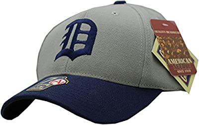 Detroit Tigers 1930 Road Retro Wool Fitted Cap