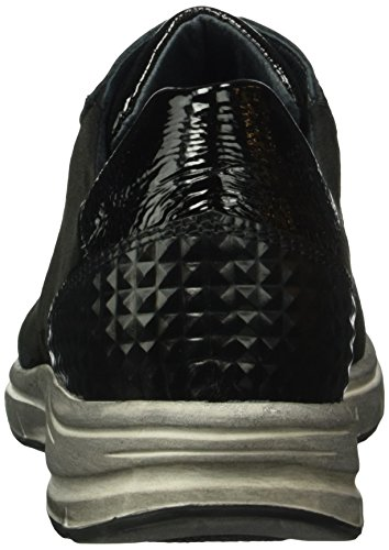 Semler Cordones Ulli Schwarz 001 Zapatos Mujer Negro para de Brogue RqOHTSRwp