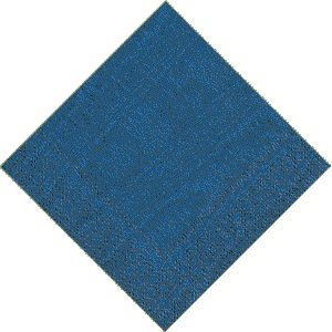 Caspari Moire Blue Luncheon Napkins- 2 packs of 20 (973L) - Moire Luncheon Napkin