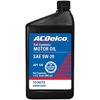 Acdelco 10 9075 5w 20 Synthetic Motor Oil 1