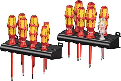 Wera 05105631001 Kraftform Big Pack 100 Vde Juego De Destornilladores Set 14 Piezas