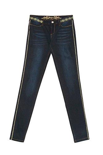 Skinny Gold 17wwdd41 Scuro Denim Donna Skin Jeans Desigual Second HxqY0588