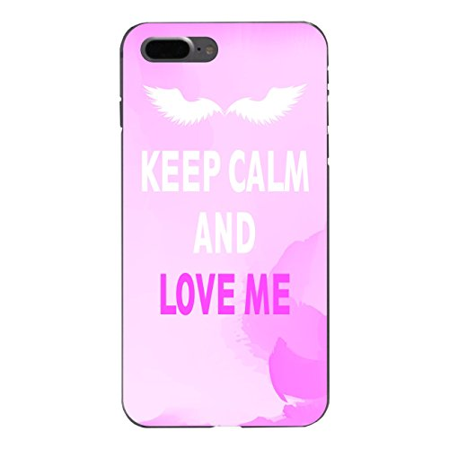 "Disagu Design Case Schutzhülle für Apple iPhone 7 Plus Hülle Cover - Motiv ""KEEP CALM AND LOVE ME"""
