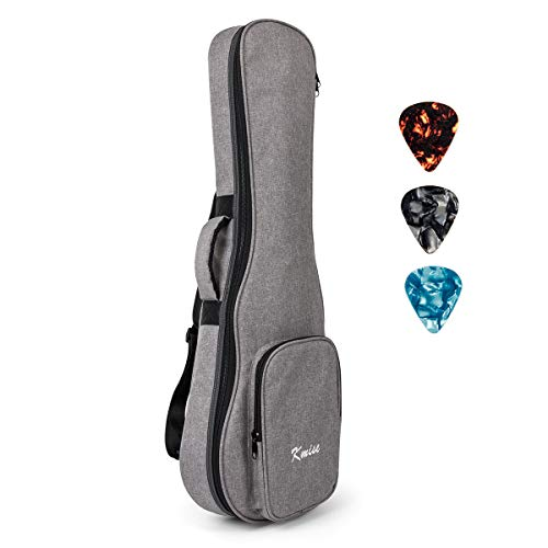 32 Inch Guitar Ukulele Case Gig Bag For Baritone Ukelele 6 Strings Guitarlele Instrument With 3 Uke Picks