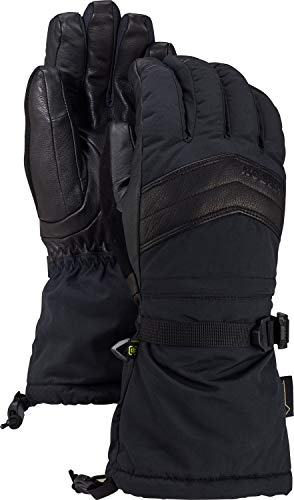 Burton Snowboard Womens Glove (Burton Women's Gore-Tex Warmest Glove, True Black, Small)