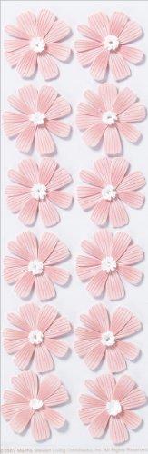 Martha Stewart Crafts Stickers, Dimensional Pink ()