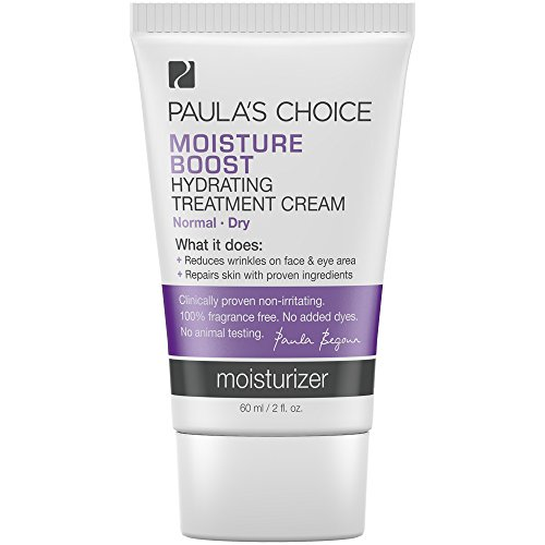 Paula's Choice-Moisture Boost Hydrating Treatment Cream Moisturizer with Niacinamide-Facial Treatment for Normal/Dry Skin-1-2 oz Bottle