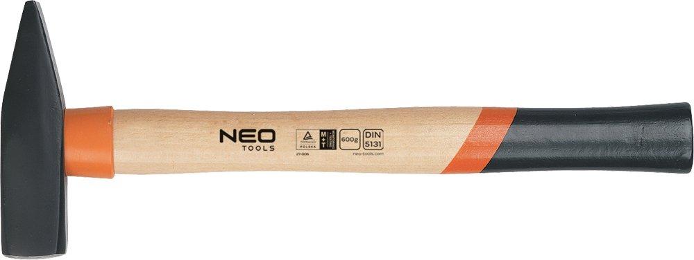 NEO Schlosserhammer 100 g, Eschestiel, 25-010