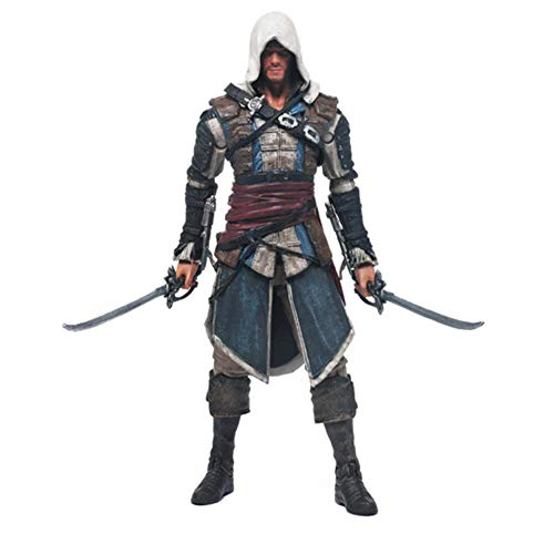 PLAYER-C Edward Iv 4 Black Flag Edward Kenway Kangna PVC Action Figure Toy 15Cm 4 Styles Best Gifts for -
