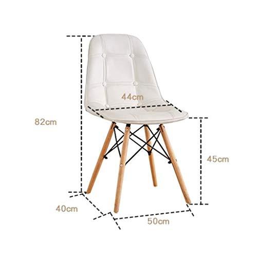 Matstol delikat stol enkel student skrivbord och stol makeup dator pall hemma stabil (färg: Blå)