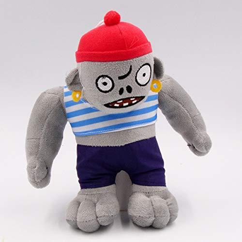 TavasHome Plants VS Zombies 2 PVZ Figures Plush Toys,Stuffed Soft Game Doll,New Zombies - C-Gargantuar Pirate Zombie ()