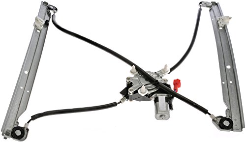 Dodge Regulator (Dorman 741-823 Front Driver Side Replacement Power Window Regulator with Motor for Select Chrysler/Dodge/Plymouth Models)