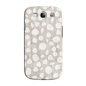 Cover It Up - Pebble Print Grey Galaxy S3 Hard Case