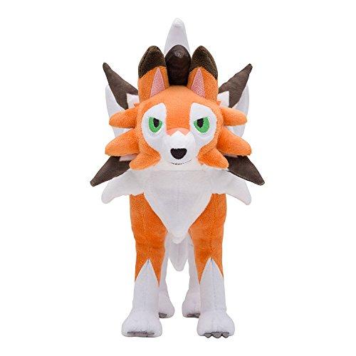 (Wanna2017 Lycanroc (Dusk Form) Plush Doll Soft Stuffed Figure Toy 10 inch Gift)