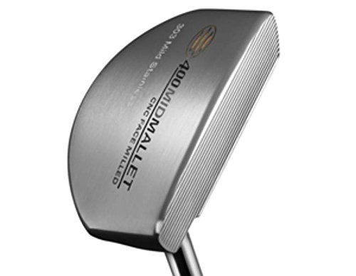 (Guerin Rife Island Series 400 Mid Mallet Putter Steel Right Handed 35.0in)