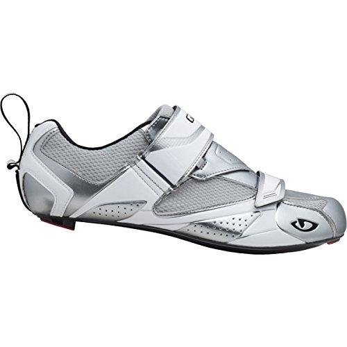 Giro Petra Vr Scarpe Da Ciclismo - Donna Cromo / Bianco