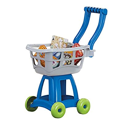 American Plastic Toys Kid's Shopping Cart Set
