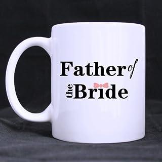 Unico regalo di matrimonio per papà Padre della sposa tazze Thanksgiving Day Gifts