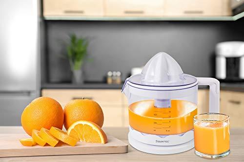 SUNTEC Wellness ZIP-8427 Comfort Spremiagrumi, 0 W, plastica, Bianco 2