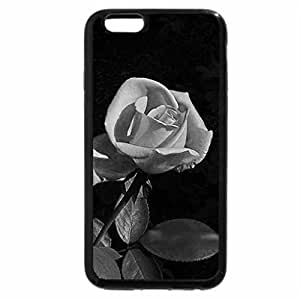 iPhone 6S Case, iPhone 6 Case (Black & White) - Mauve beauty