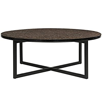 we furniture 36 coffee table with x base. Black Bedroom Furniture Sets. Home Design Ideas