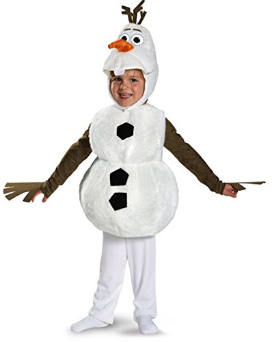 Olaf Toddler Halloween Costumes (Olaf Deluxe Costume - Toddler Large)